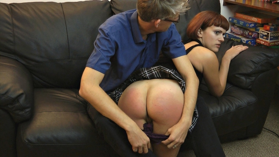 Scene spank the wife humiluation