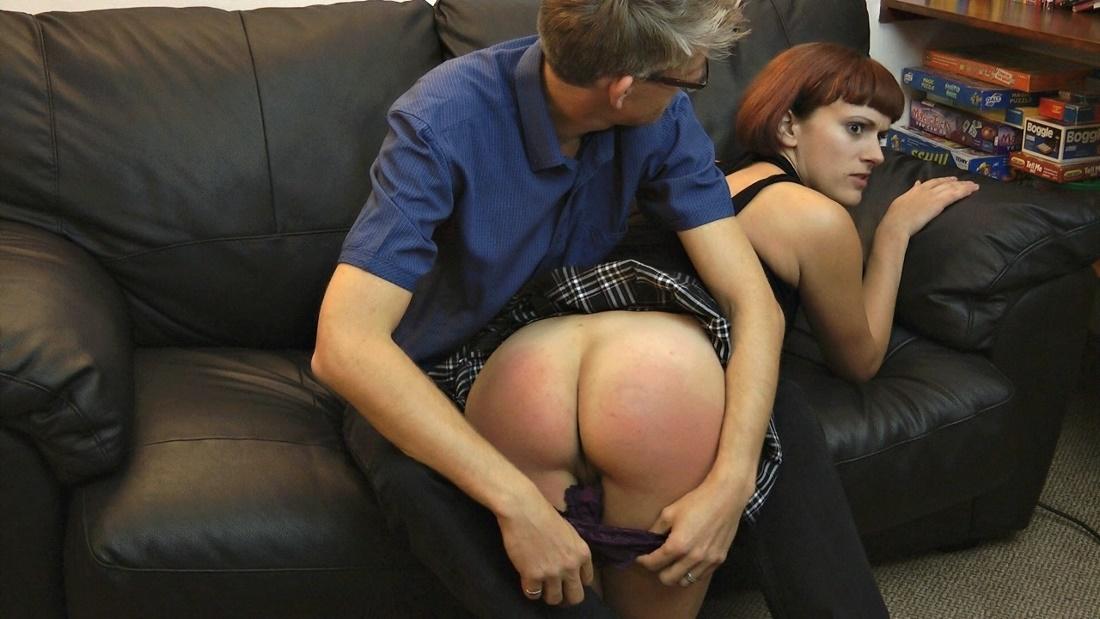 Scene spank the wife humiluation