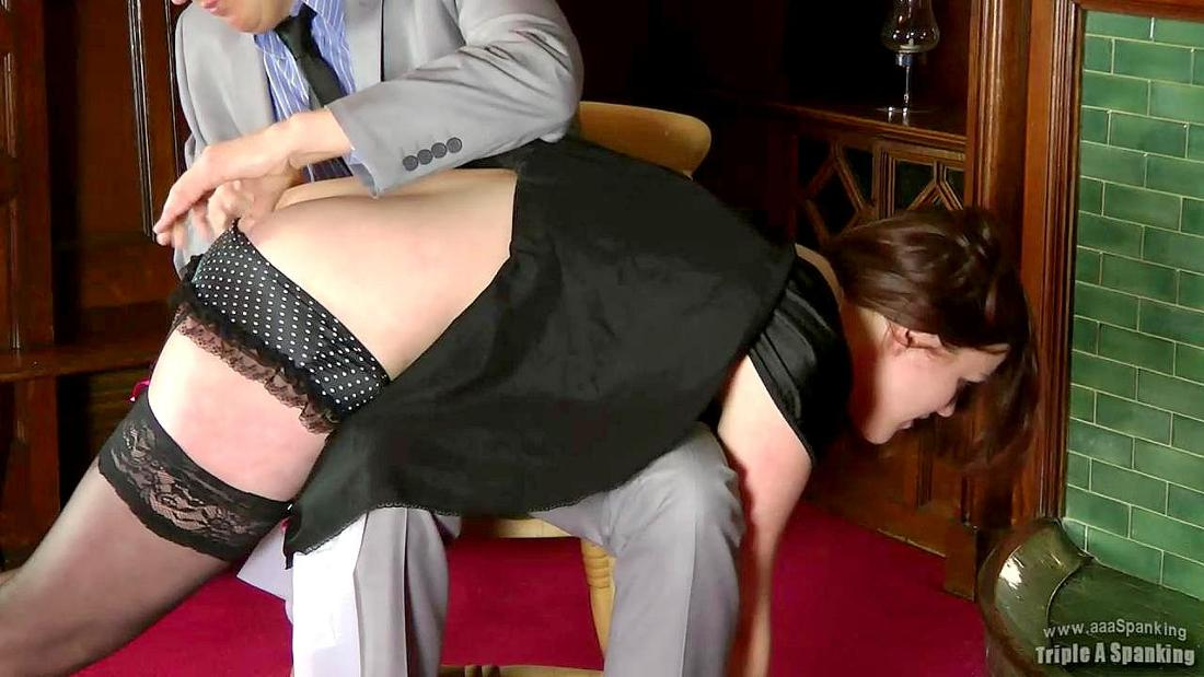 aaa spanking over the knee spanking
