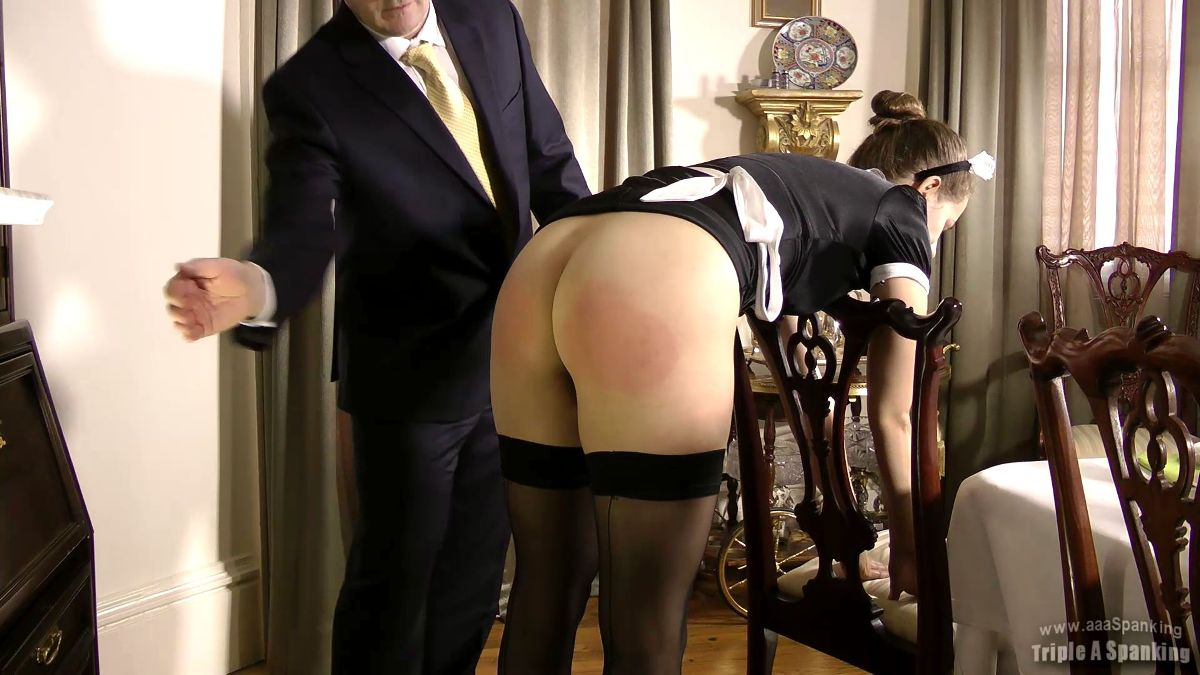 the french maid Spank