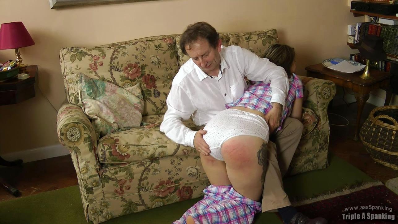 Pajamas spank m, hairy pussy world