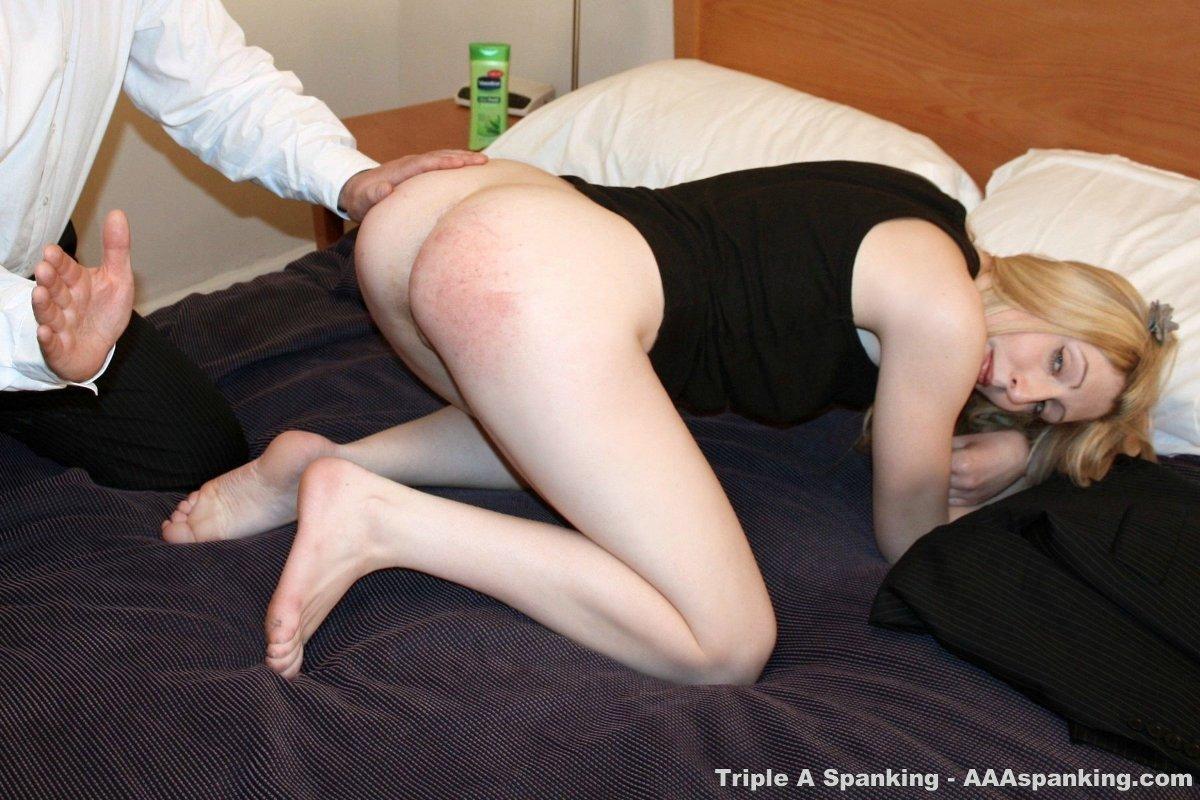 Sensual spanking
