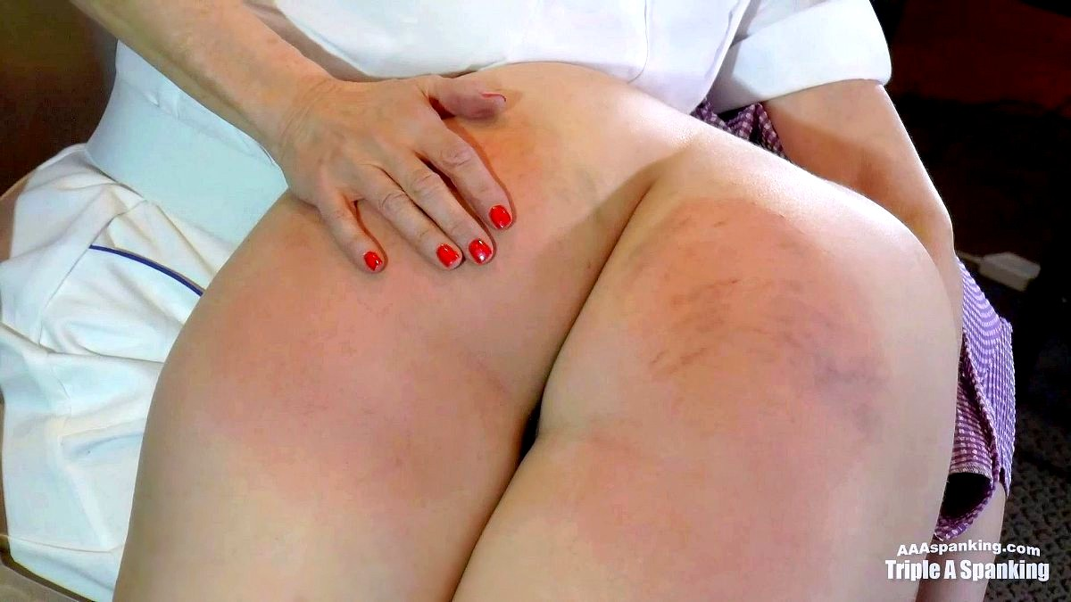 Squeezing the bad seed spank girls