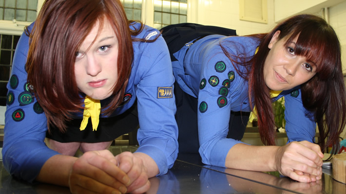 Hard Girl Guide Severe Discipline