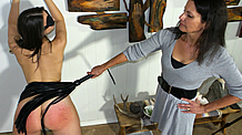 Blindfolded & Flogged