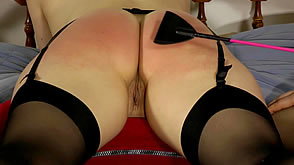 Riding Crop Spanking & Orgasm