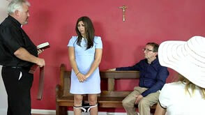 Sunday school spanking punishment