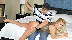 Spanked and sobered up